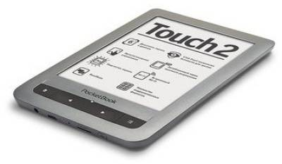 Электронная книга PocketBook Touch Lux silver PB623-S-WW