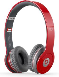 Наушники Beats Solo HD On-Ear Headphones w/controlT(Red) 129474-00
