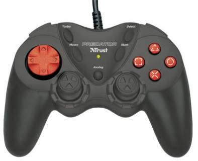 Игровой контроллер Trust Compact Dual Stick Gamepad GM-1520 8713439148015