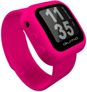 MP3 плеер QUMO SPORTSWATCH 4GB pink