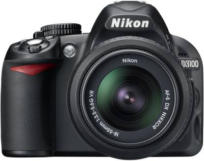 Фотоаппарат Nikon D3100 Kit 18-55 II VBA280KV07