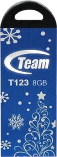 Флеш-память USB Team Xmas T123, Blue TT1238GL01