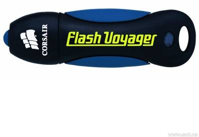 Флеш-память USB Corsair Flash Voyager USB2.0 32 Гб Black/Blue