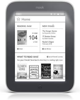 Электронная книга Barnes&Noble nook simple touch whith GlowLight