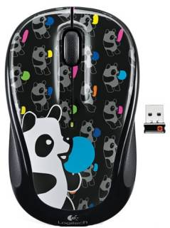Мышка Logitech MOUSE USB OPTICAL WRL M325 PANDA 910-003022