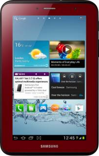 Планшет Samsung Galaxy Tab 2 P3100 P3100 Garnet Red