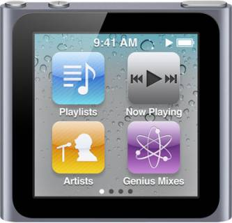 MP3 плеер Apple MP3/MPEG4 плер Apple iPod nano 6Gen 8 GB grafit