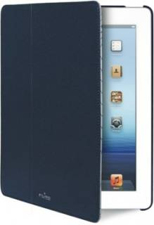 Puro iPad 2/3 Booklet+cover синий IPAD2S3BOOKCMBLUE