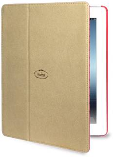 Puro iPad 2/3 Booklet+cover золотой IPAD2S3BOOKCMGOLD