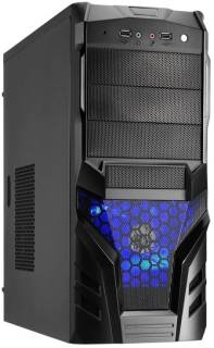 Корпус Logic ZETMAN Middletower без БП ATX/mATX ZM03A(BK/BK)