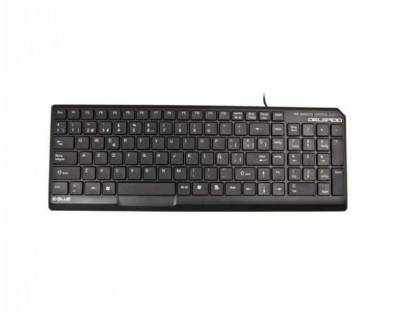 Клавиатура E-BLUE Delgado Ultra slim wired usb keyboard (Rus)