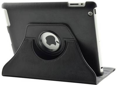 Trust iPad - Rotating cover with stylus (Black) 18725