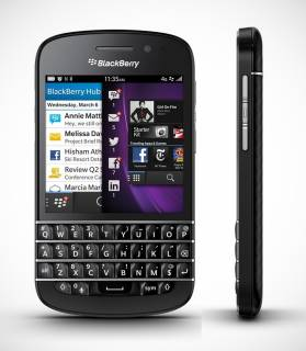 Смартфон BlackBerry Q10 Black