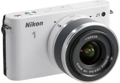 Фотоаппарат Nikon 1 J1 WH Kit + 10-30mm VR + 10mm VVA152K004