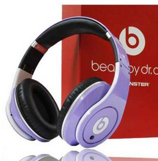 Наушники Beats Monster Beats by Dr. Dre Studio High-Definition purple BTS-128740-00