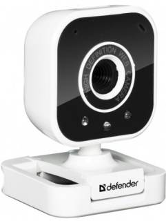 Веб-камера Defender GLory 327 Web Black/White USB