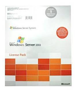 Операционная система Microsoft Windows Server CAL 2003 Russian OEM 5 Clt User CAL R18-01072