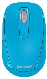 Мышка Microsoft Wireless Mobile Mouse 1000 Cyan 2CF-00030