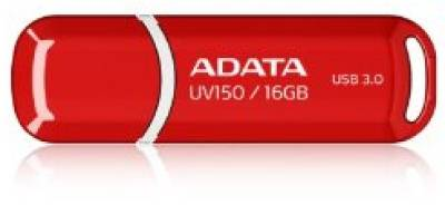 Флеш-память USB A-Data UV150 16Gb Red AUV150-16G-RRD