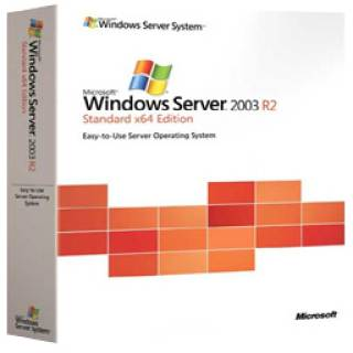 Операционная система Microsoft Windows Server Standard Edition 2003 R2 SP2 English P73-02768