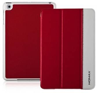 Momax Flip cover for iPad Mini red/white