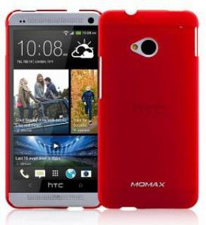Momax Ultratough case for HTC One red