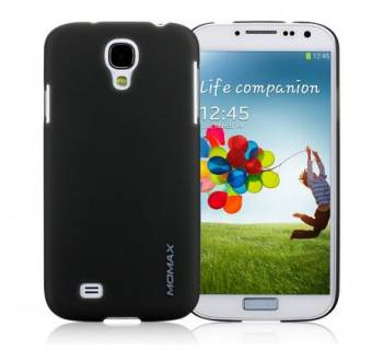 Momax Ultratough Transparent case for Samsung i9500 Galaxy S IV black