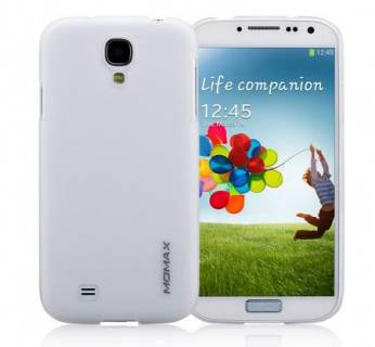 Momax Ultratough Transparent case for Samsung i9500 Galaxy S IV white