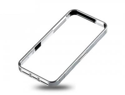 Momax Pro Frame for iPhone 5 silver PFAPIP5S