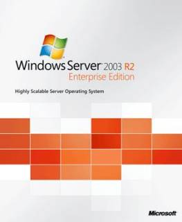 Операционная система Microsoft Windows Server Enterprise Edition 2003 R2 SP2 English P72-02509