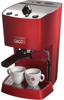 Кофеварка Philips SAECO Gaggia New Espresso Color Red RI9302/31