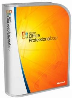 Приложение Microsoft Office Professional 2007 Ukrainian 269-13756