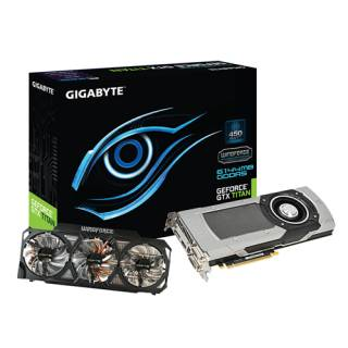 Видеокарта Gigabyte GeForce TITAN 6GB GV-NTITANOC-6GD-B