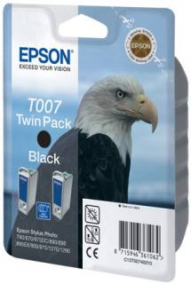 Картридж Epson Twin Pack T007 C13T00740210