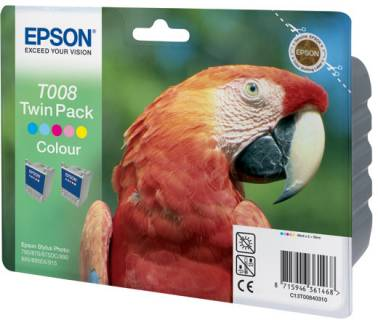Картридж Epson Twin Pack T008 C13T00840310