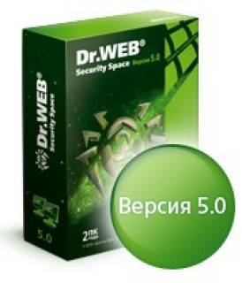 Антивирус Dr.Web Anti-Virus Security Space BSW-W24-0002-1