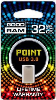 Флеш-память USB Goodram POINT 32GB Silver USB 3.0 PD32GH3GRPOSR10