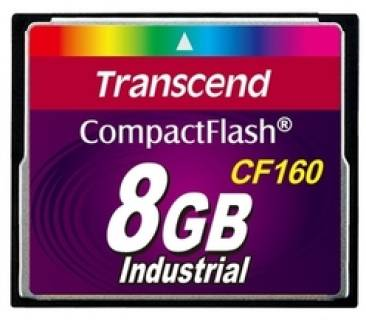 Карта памяти Transcend 8G Compact Flash card (CF160, TYPE I ) TS8GCF160