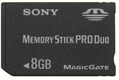 Карта памяти Sony Memory Stick Pro Duo 8Gb MSX-M8GS/X