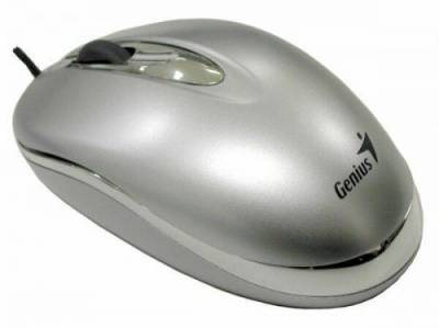 Мышка Genius NetScroll+ Mini Traveler Silver 31010109100