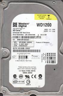 Внутренний HDD/SSD Western Digital WD1200BB
