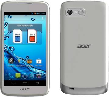 Смартфон Acer Liquid Gallant Duo E350 White HM.HALEU.001