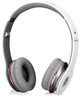 Наушники Beats Solo HD High Definition On-Ear Headphones with ControlTalk (White) 900-00012-03