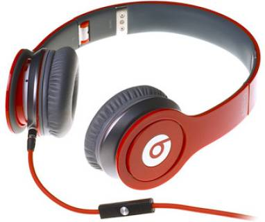 Наушники Beats Solo HD High Definition On-Ear Headphones with ControlTalk (Red) 900-00013-03