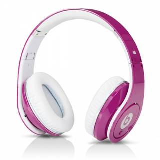 Наушники Beats by Dr. Dre Studio High Definition Powered Isolation Headphones (Pink) 900-00015-03