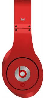 Наушники Beats by Dr. Dre Studio High Definition Powered Isolation Headphones (Red) 900-00030-03