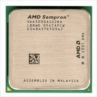 Процессор AMD Sempron 3000+ BOX S754 SDA3000BXBOX