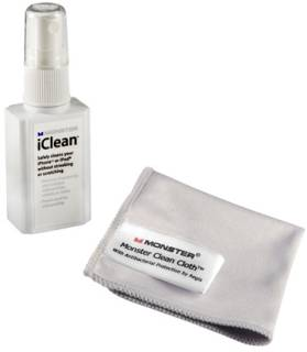 Средство Monster iClean Screen Cleaner for iPod and iPhone MNS-129853-00