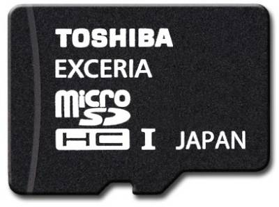 Карта памяти Toshiba EXCERIA SD-CX16HD(BL7