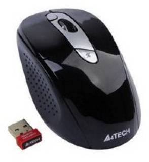 Мышка A4Tech G9-570HX-1 Wireless Optical Mouse Black-Silver